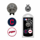 MLB Cleveland Indians Golf Hat Clip With 2 Ball Markers on Ebay