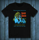 Haunted mansion POSTER T-Shirt Tee exclusive 100% Cotton  image