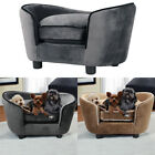 Extra Large Pet Sofa Chair Dog Puppy Cat Kitten Soft Couch Bed Mat with Cushion