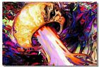Poster Psychedelic Trippy Colorful Ttrippy Surreal Abstract Astral Art Print 15