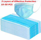 Kyпить 10/50x Disposable Face Mask Surgical Medical Dental Industrial 3Ply Ear Loop US на еВаy.соm