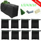 1-10 Waterproof Cushion Storage Zipper Bag Patio Furniture Protector Table Cover