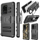 For Samsung Galaxy S20 S20 Plus S20 Ultra Belt Clip Stand Full Armor Case Cover