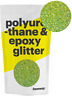 More images of Hemway Epoxy Glitter Crystals 500g Internal External - Lime Green Holographic