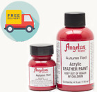 Angelus Acrylic Leather Paint for Sneakers, Shoes, Bags -various Colours 1oz/4oz <br/> BEST QUALITY, AFFORDABLE PRICES, QUICK & FREE DISPATCH