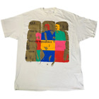 U2 Zoo TV Tour Band CottonCoWhite Reprint Men S-4XL T-Shirt C418 image