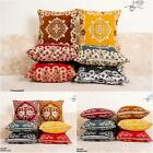 Plain Luxury Home Decor Cushion Cover Plushy With Piped Edges 18 Inch Size