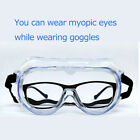 Safety Goggles Over Glasses Lab Work Eye Protective Eyewear Clean Lens 1-10 PCS