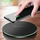 15W Qi Wireless Charger Charging Dock Pad Mat For Samsung S10 iPhone 8 X XS