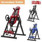 Inversion Table Fitness Chiropractic Back Stretcher Heavy Duty Reflexology Pad image