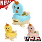 Cute Kids Trainer Toilet Potty Training Seat Baby Toddler Chair Padded Seat USA image