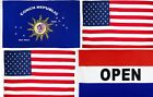 """Conch Republic Key West/US Flag Star Spangled Banner/Open Flag 3x5"""" US SELLER"""