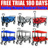More images of FOLDABLE SHOPPING CAMPING HAND CARTS GARDEN WAGON TROLLEY PULL ALONG HOT SELL