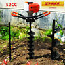More images of 52cc Post Earth Auger Hole Digger Posthole Fence Borer Petrol Drill 8 bits
