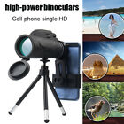 80X100 Zooms Monocular Prism High-definition Optical  Mobile Phone Telescope image