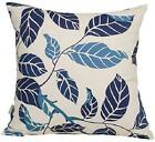 Tangdepot Decorative Handmade Floral Leaf Throw Pillow Covers/Pillow Shams, 10 S