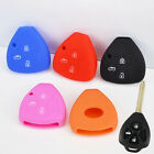 3 Button Fit For Toyota Avensis Rav4 Scion Fob Case Silicone Remote Key Cover $3.49 CAD on eBay