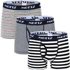 JINSHI 3 Pack Boys Long Leg Boxer Briefs Open Fly Bamboo Fabric Breathable Stret
