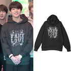 BTS Jungkook Fake Love Black Hoodie Sweatshirt Kpop Kfashion