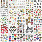 Fabric Applique Sticker Craft Mix Bags DIY Embroidered Sew Iron On Patches Badge $6.77 USD on eBay