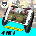 Mobile Gaming Gamepad Controller Joystick Trigger Fire Shooter Button For PUBG