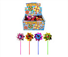 Assorted Foil Windmills 31 cm Sticks 4 Assorted Colours Available (10, 20 or 30)