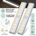 20 LED Wireless Under Cabinet Lamp USB Rechargeable Motion Sensor Closet Lights