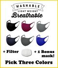 Kyпить Face Mask Washable Reusable With Replaceable Filters - Made In Korea  на еВаy.соm