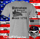 t shirt,Patriotism,Pissing Off Liberals Since 1776,Liberalism Is A Disease,USA image