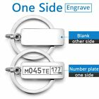 Customized Engraved Keychain For Car Logo Plate Number Personalized Gift