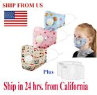 Kyпить Kids Face Mask Children 5 Layer Filter PM2.5 Anti-pollution Activated Carbon на еВаy.соm