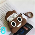 New Cute 3D Cartoon Silicone Case Cover For Airpod AirPods 1 & 2 Charging Case