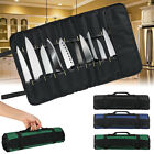 Oxford Cloth 22 Slots Pocket Chef Bag Roll Carry Case Portable Storage