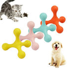 FJ- Pet Dogs Cats Funny Rubber Tripod Molar Interactive Tugging Chew Play Toy