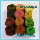 Acrilan 3 Hebras [12 Pack x 15grs] - Multi-color Pack of Unwound 3-ply Acrylic y