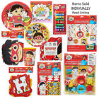 Kyпить RYAN'S WORLD Birthday Party Plates Napkins Banner Lip Balm Favors Cups Masks на еВаy.соm