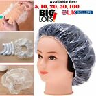 Shower Cap Bathing Elastic Clear Hair Care Protector Hat Cap 5/10/20/50/100 pcs