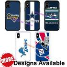 Sports Team American Football Hybrid Case for iPhone Xs X 11 / Galaxy S9 + $13.99 USD on eBay