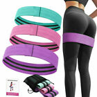 Resistance Bands Booty Fabric Glutes Hip Circle Legs Squat Yoga Non Slip US image