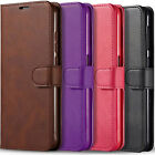 For LG K51 Wallet Case, Premium Leather Wallet Pock + Tempered Glass Protector