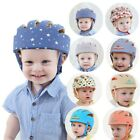 Safty Helmet for baby girl boy toddler learning walking cotton protective hat