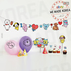 BT21 Character Party Supplies Balloon + Garland + Cone Hat + etc Authentic Goods