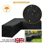 L Shape Garden Rattan Corner Furniture Cover Table Cover Outdoor Sofa Protect Uk