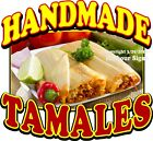 Handmade Tamales DECAL CHOOSE YOUR SIZE Food Truck Concession Sticker