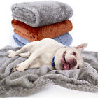 Pet Blanket Warm Fleece Large Dog Cat Bed Cushion Mat Soft Sleeping Pad Supplies