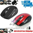 2 4ghz wireless optical mouse mice usb receiver for pc laptop computer dpi usa