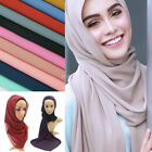Women Sold Chiffon Bubble Scarf Shawl Wrap Soft Scarves Headband Muslim Scarf G
