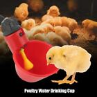 10/20x Bird Coop Automatic Feed Poultry Water Drinking Cup Chicken Fowl Drinker