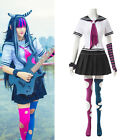 Danganronpa Dangan-Ronpa Mioda Ibuki Cosplay Costume Fancy School Unifrom Sets