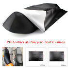 Universal Black PU Synthetic Leather Motorcycle  Seat Cushion Sleeve Waterproof $15.36 USD on eBay